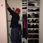Building closet into organized sections
