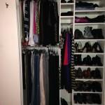 Finished rebuild of closet